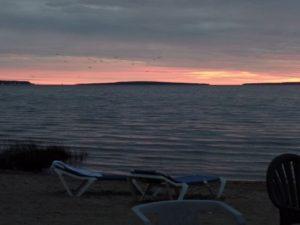 Sunset or is it sunrise