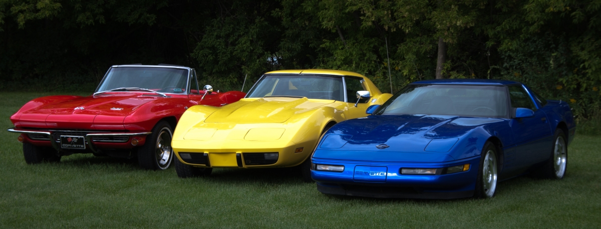 Primary colors - Corvettes (1 of 1)